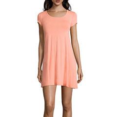 Decree® Cap-Sleeve Swing Dress- Juniors