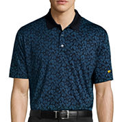Jack Nicklaus® Short-Sleeve Golf Performance Foliage Printed Polo