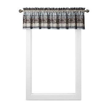 Home Expressions Oakville Rod pocket Tailored Valance
