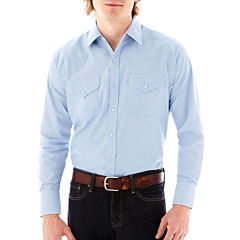 Ely Cattleman® Long-Sleeve Oxford Solid Shirt