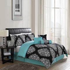 Lifestyles Barba 7-pc. Reversible Comforter Set