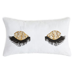 Home Expressions Sequin Eyelash Pillow
