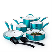 Cooks 12-pc. Ceramic Cookware Set