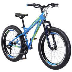 Mongoose Boys Front Suspension BMX Bike