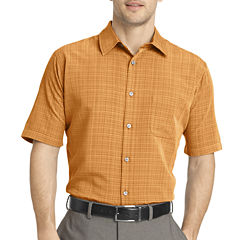 Van Heusen® Short-Sleeve Woven Sport Shirt