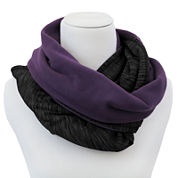 Cuddl Duds® Fleece Infinity Cold Weather Scarf
