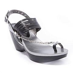 Andrew Geller Arriana Wedge Sandals