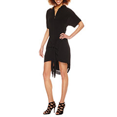 Roxberi Short Sleeve Shirt Dress