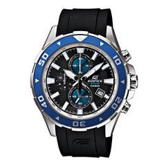 Casio® Edifice Mens Marine Chronograph Watch EFM501-1A2