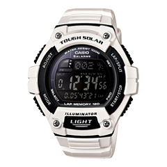 Casio® Solar Runner Large Case Watch WS220C-7B