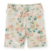 Carter's® Tropical-Print Bermuda Shorts - Toddler Girls 2t-5t