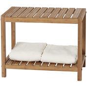 Creative Bath™ Eco Styles Bamboo Spa Bench