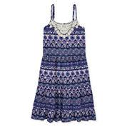 Arizona Sleeveless Peasant Dress - Girls 7-16
