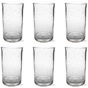 Tag Bubble Glass Set of 6 Tumbler Glasses