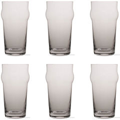 Tag Craft Beer Set of 6 Pint Glasses