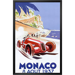 Art.com Monaco, 1937 Framed Print Wall Art