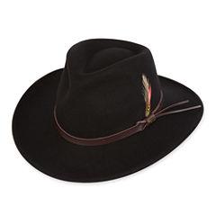 Scala™ Wool Felt Casual Outback Hat