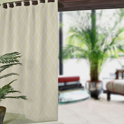 corado ogee tabtop curtain panel