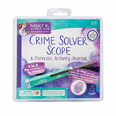 Educational Insights Nancy B's Science Club - Crime Solver Scope & Forensic Activity Journal