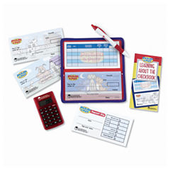 Learning Resources Checkbook with Calculator - Pretend Play Set
