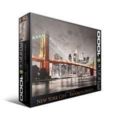 Eurographics Inc City Collection - New York City -Brooklyn Bridge: 1000 Pcs