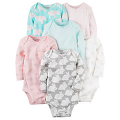 Carter's Girl 6-pk. Bodysuits - Baby