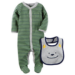 Carter's Boy Sleep and Play with Bib - Baby