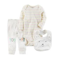 Carter's 3-pc. Layette Set-Baby Unisex