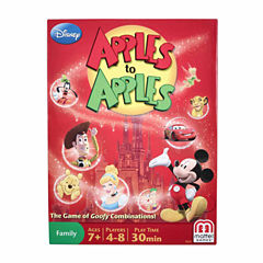 Mattel Disney Apples to Apples - The Game of GoofyComparisons!