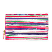 Mundi® Big Fat Wallet Brush Strokes Print Wallet