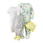 Carter's® 4-pc. Giraffe Layette Set - Babies newborn-24m