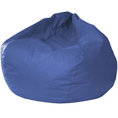 Oversized Leather-Look Beanbag Chairs