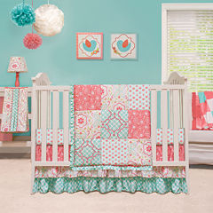 The Peanut Shell® 4-pc. Mila Crib Bedding Set