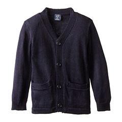 U.S. Polo Assn.® V-Neck Cardigan Sweater- Boys 8-16