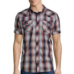 I Jeans By Buffalo Model Short-Sleeve Woven Shirt