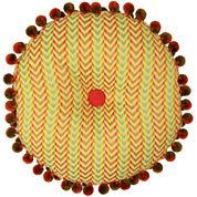 Waverly® Charismatic Honeysuckle Round Decorative Pillow