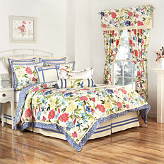 Waverly® Charmed 4-pc. Reversible Comforter & Accessories