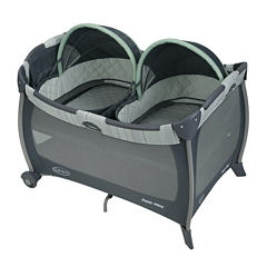 Graco® Napper with Twins Bassinet Playard