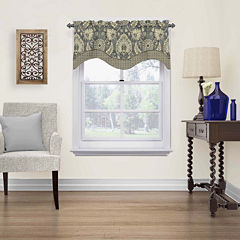 Clifton Hall Rod-Pocket Scalloped Valance