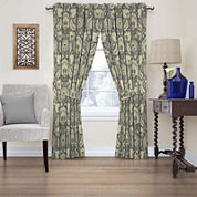 Clifton Hall Rod-Pocket Curtain Panel