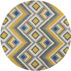 Donny Osmond Harmony by KAS Accents Round Rug
