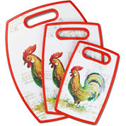 Cuisinart® 3-pc. Cutting Board Rooster Set