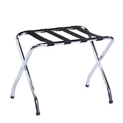 Honey-Can-Do® Chrome Luggage Rack