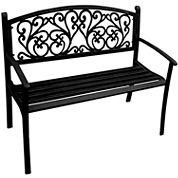 Vine Steel Park Bench