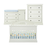 Savanna Tori 3-pc. Baby Furniture Set - Off White