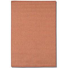 Couristan® Saddle Stitch Indoor/Outdoor Rectangular Rug