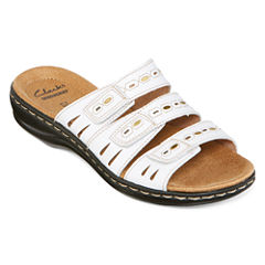 Clarks® Leisa Broach Slide Sandals