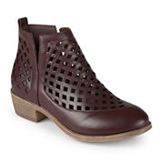 Journee Collection Kat Ankle Booties