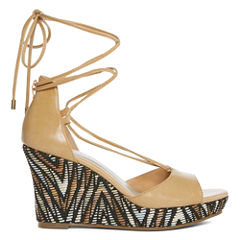 a.n.a Marni Womens Wedge Sandals