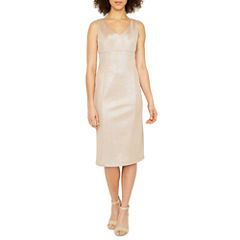 Ronni Nicole Sleeveless Sheath Dress